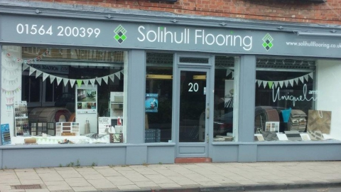 Solihull Flooring Showroom front