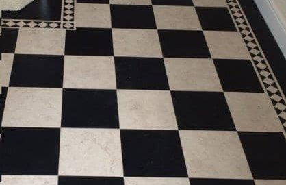 Amtico Signature Checker Board design
